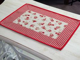 Galtex Platzset Provenza rot ca. 35x45cm
