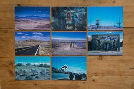 ポストカード「ホピ・ナバホの大地から 未来へ続く道」