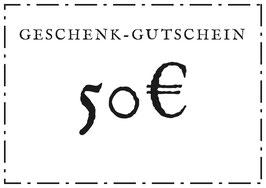 Geschenk-Gutschein - 50€