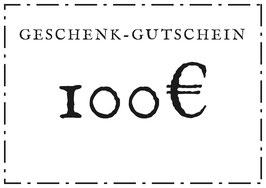 Geschenk-Gutschein - 100€