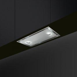 Smeg · KSG52B Neuheit · Einbau-Lüfterbaustein · 52cm · Weissglas · Neutrales Design