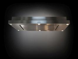O+F A-Line i-Box Step Deckenhaube + Plasmafilter ELP 137iBS70-816 Edelstahl