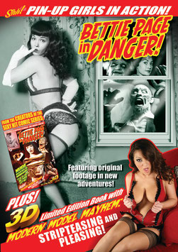 Bettie Page In Danger! DVD
