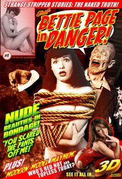 Bettie Page In Danger! #1 - Nude Beauties In Bondage!