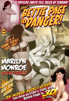 "Bettie Page In Danger #10 -""The Cousin Of Marilyn Monroe Gone Mad?!"""