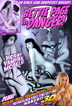 "Bettie Page In Danger #11 -""Horny Vampire Models!"""