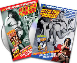 "Bettie Page In Danger! ""DOUBLE-DVD"" Combo Pack"