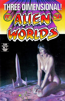 Vintage 3-D Alien Worlds Comic