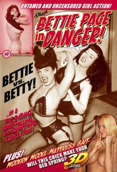 Bettie Page In Danger #7 - Bettie vs. Betty!