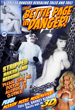 Bettie Page In Danger! #2 - Stripped Naked & Begging!