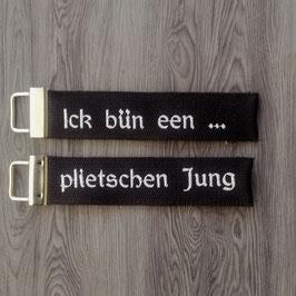Ick bün een ... plietschen Jung