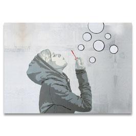 Luftblasenmädchen //  A1