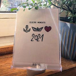 Tisch- oder Wandkalender 2021 // A6