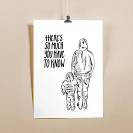 Vater & Sohn / Din A3