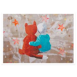 Freundschaft // Postkarte