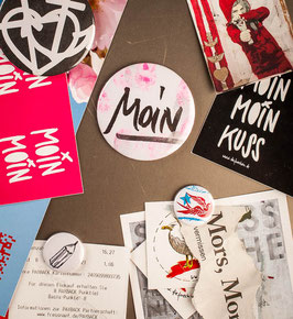 Moin - Handschrift pink // Mag