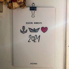 Wandkalender 2021 // A4