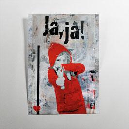 Zwillenmädchen // Postkarte