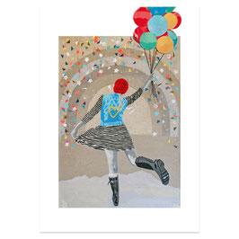 Tanzballon / Din A3