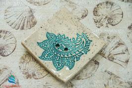 Keramik-Seifenschale eckig Nr. 38