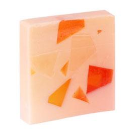 Orangenmilch Glycerinseife