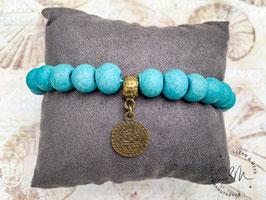 Keramik-Armband türkis
