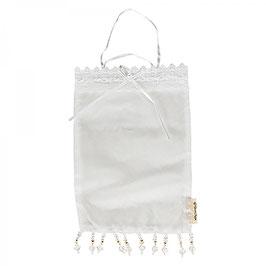 großes Organza Säckchen Perlen
