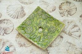 Keramik-Seifenschale eckig Nr. 51