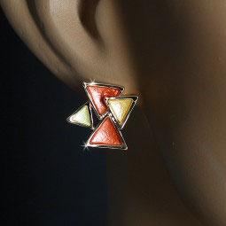 Ohrstecker Dreiecke
