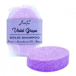 Badefee festes Shampoo Violet Grape