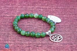 Jade-Armband geschliffen