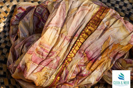 Upcycled Sari-Loop Nr. 19