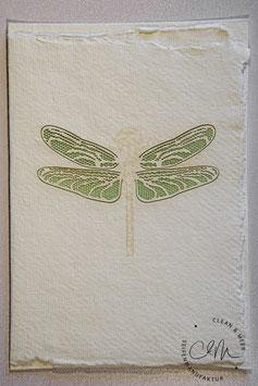 Büttenpapier Grußkarte