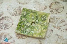 Keramik-Seifenschale eckig Nr. 50
