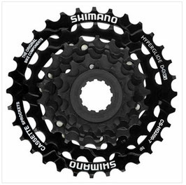 Fahrrad 93 Kassette 7-Gang Shimano Nachrüstung