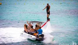 Accompagnant sur bateau