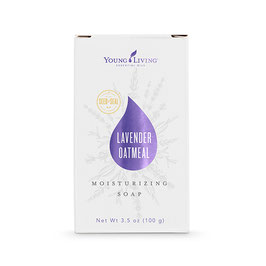 Bar Soap: Lavender Oatmeal - 100 g