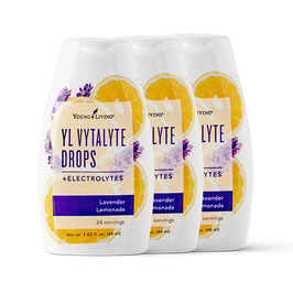 YL Vytalyte Drops - Lavender Lemon - 3 x 48 ml