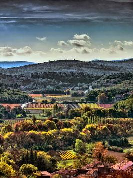 Lumière d'automne en Provence  par Mateo Brigande