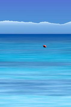 La petite bouée rouge  par Mateo Brigande