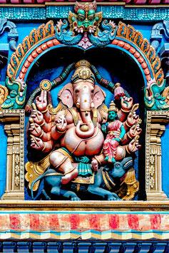 Ganesh  (Madurai, Meenakshi Temple) par Mateo Brigande