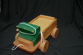 Holz-Lastwagen zum Nachziehen