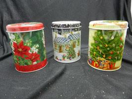 Gebäckdosen Weihnachten Weihnachtsstern