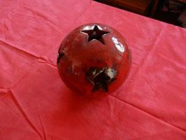Sternenkugel rot