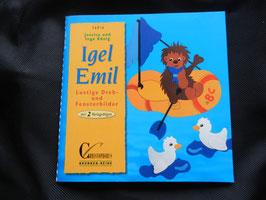 Igel Emil aus Tonkarton