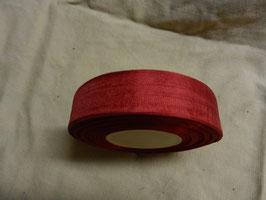 Schleifenband , 2,5cm, 50m, rot