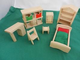 """Puppenhausmöbel """"Kinderzimmer"""""""