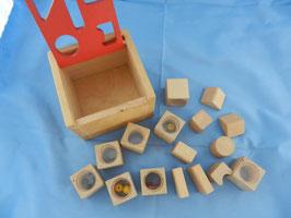 Überraschungskiste Holzspielzeug
