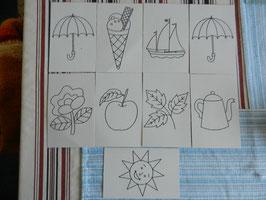 Ausnähkarten 8 Motive