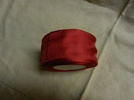 Schleifenband , geriffelte Kante 4,5cm,25m, rot